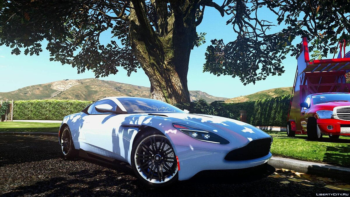2016 Aston Martin DB11 [Add-On / Replace | Unlocked | Tuning | HQ] 1.2 для GTA 5 - скриншот #7