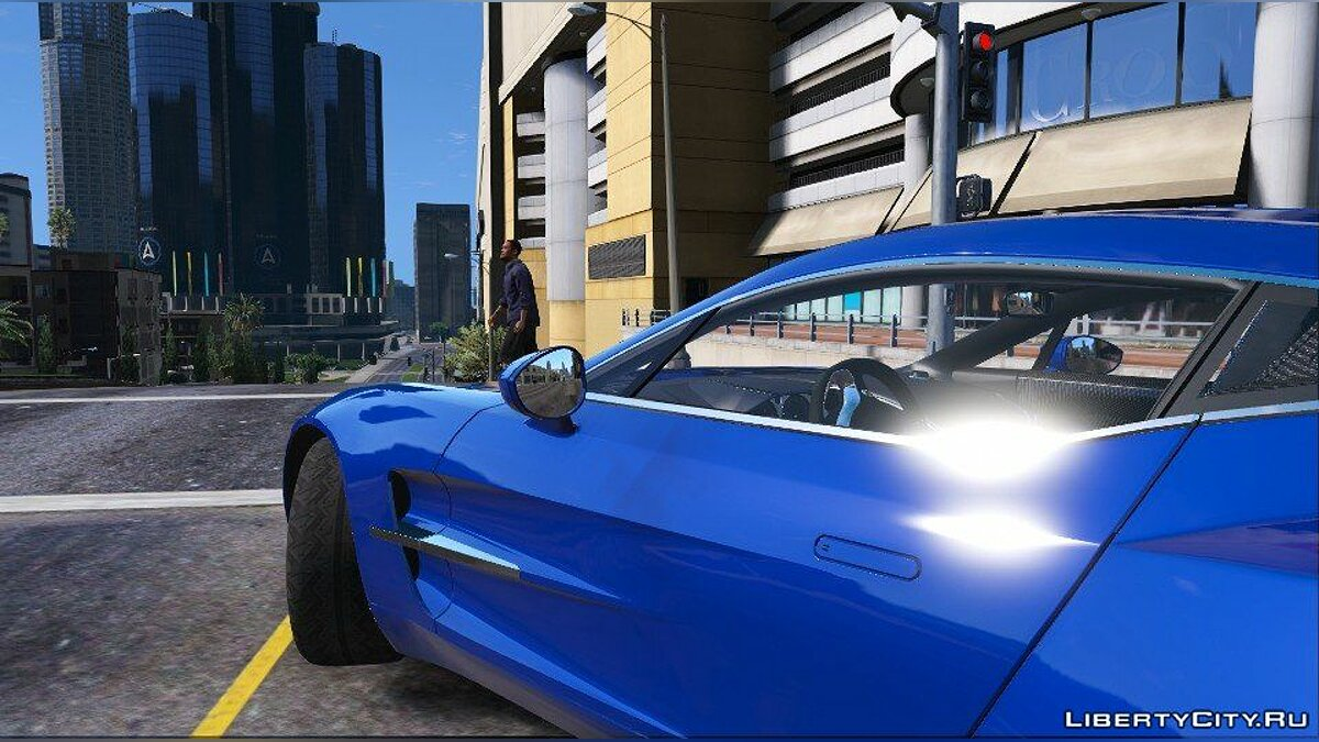��ашина Aston Martin Aston Martin One-77 2010 [Add-On / Replace | Template | Automatic spoiler | Dirtmap] 1.0 для GTA 5