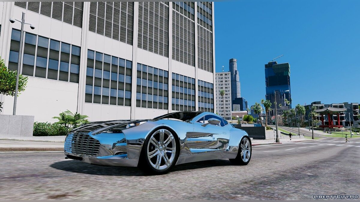 Aston Martin One-77 Edition [Add-On] для GTA 5 - скриншот #3