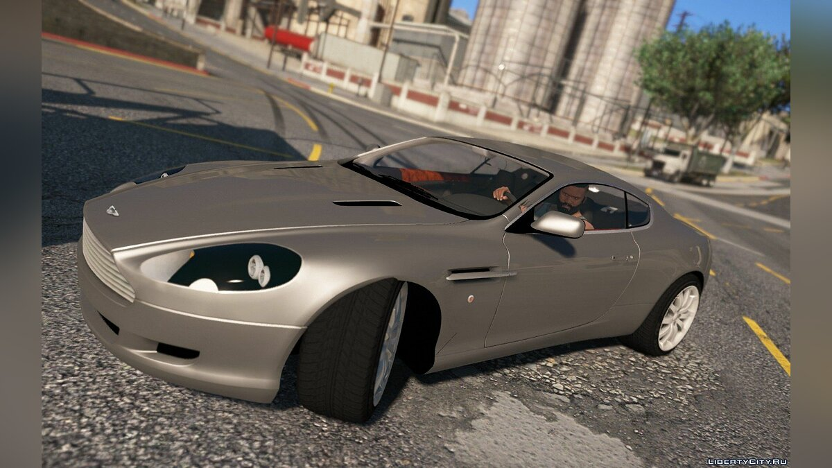 Aston Martin DB9 2005 [Add-On] 1.1 для GTA 5