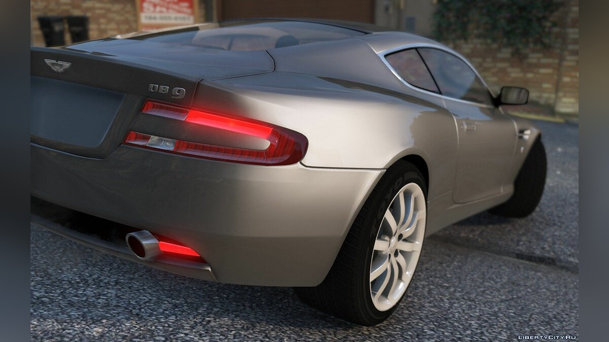 Aston Martin DB9 2005 [Add-On] 1.1 для GTA 5 - скриншот #2