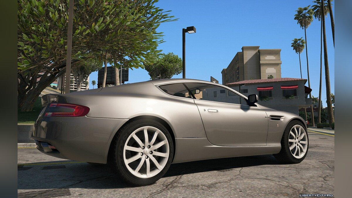 Aston Martin DB9 2005 [Add-On] 1.1 для GTA 5 - скриншот #4