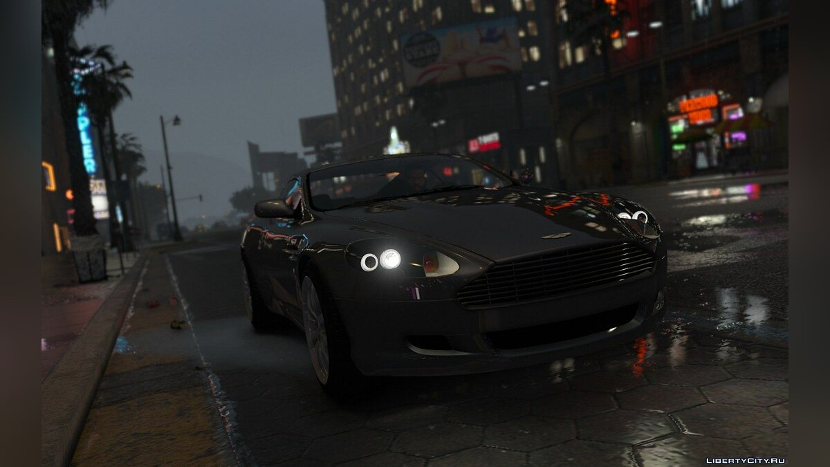 Aston Martin DB9 2005 [Add-On] 1.1 для GTA 5 - скриншот #5