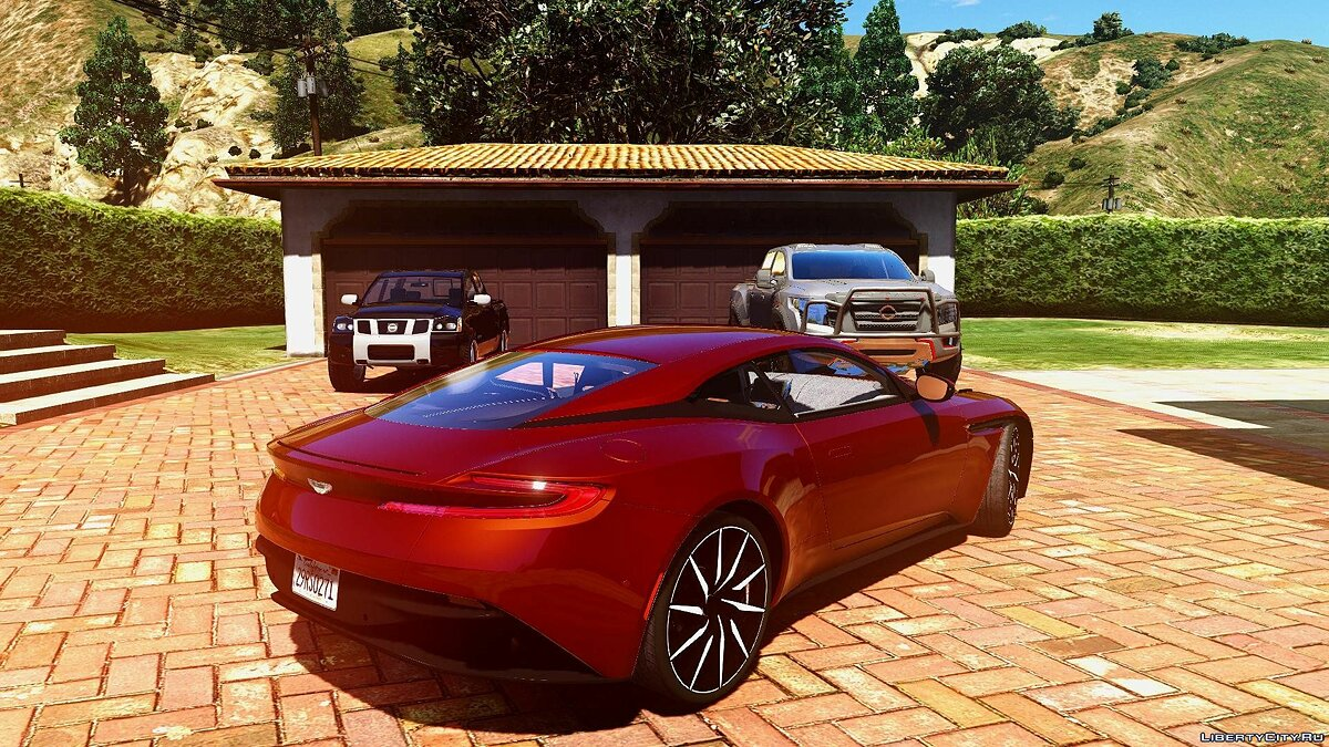 2016 Aston martin DB11 [Unlocked | Tuning | HQ] 1.0 для GTA 5 - скриншот #2