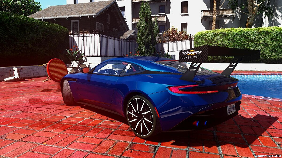 2016 Aston martin DB11 [Unlocked | Tuning | HQ] 1.0 для GTA 5 - скриншот #4