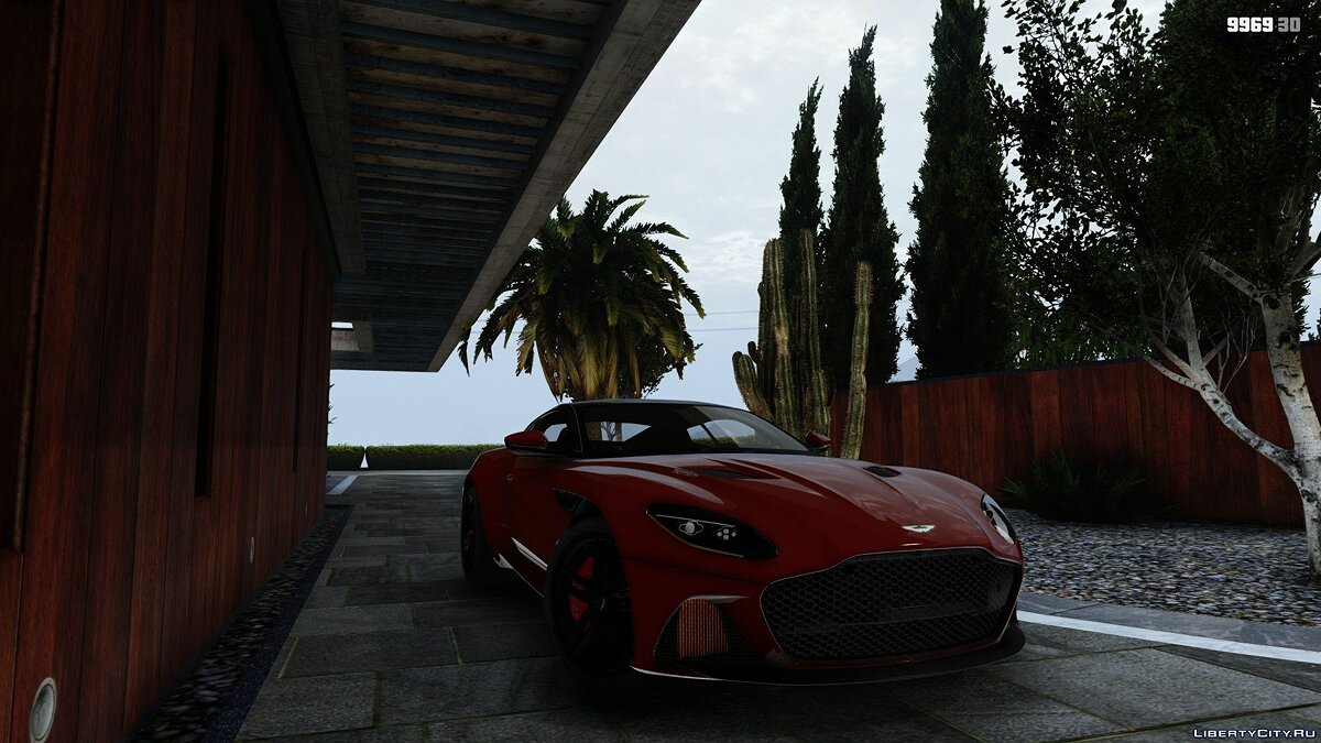 Машина Aston Martin Aston Martin DBS Superleggera 2018 [Add-On / Replace] 1.2 для GTA 5