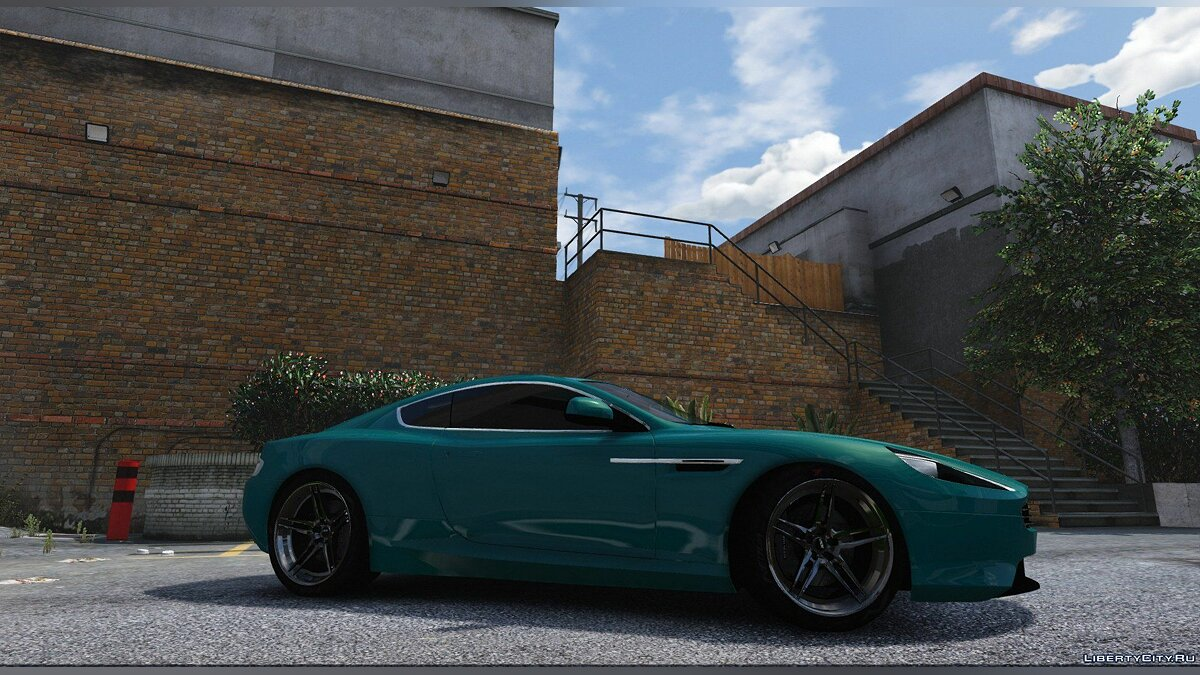 ��ашина Aston Martin Aston Martin Virage 2012 [Add-On/HQ/3D Engine] V2.0 для GTA 5