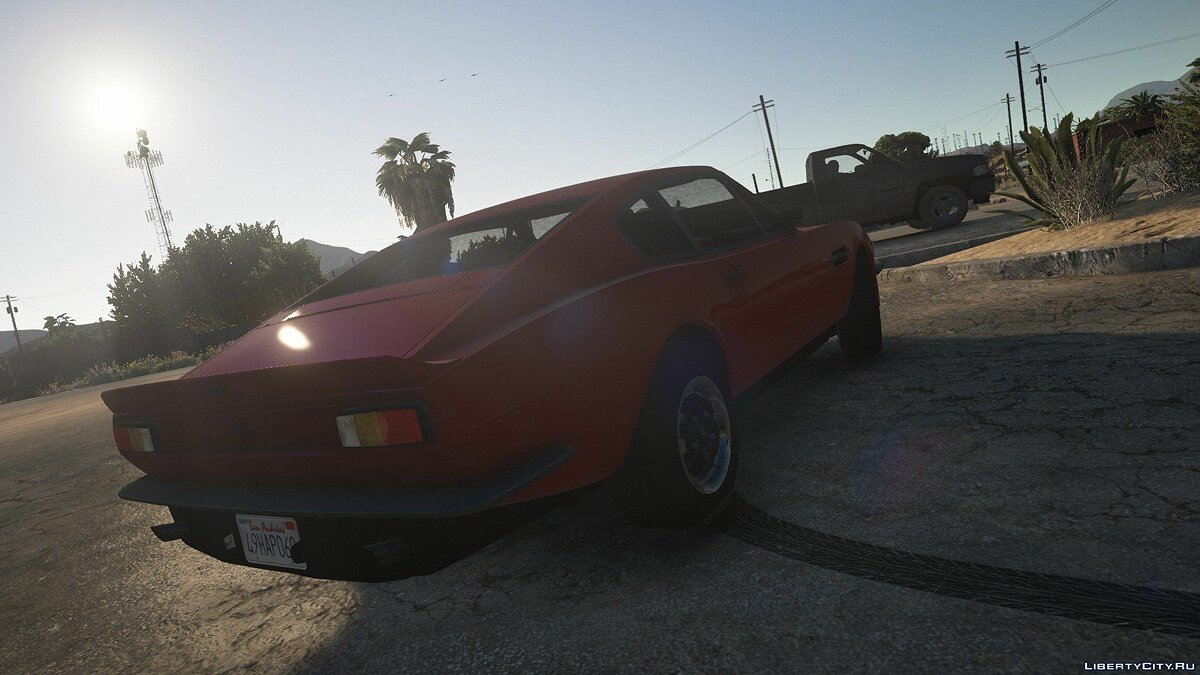 Машина Aston Martin 1977 Aston Martin V8 Vantage [Add-On] 1.0 для GTA 5