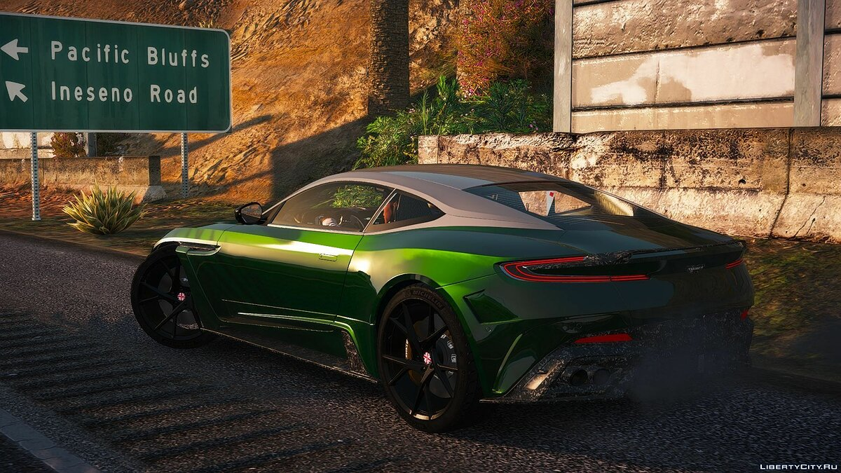 Машина Aston Martin Aston db11 Cyrus [Add-on] 1.02 для GTA 5