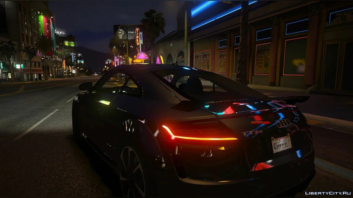 Машина Audi 2019 Audi TT RS [Add-On / Replace] 1.0 для GTA 5