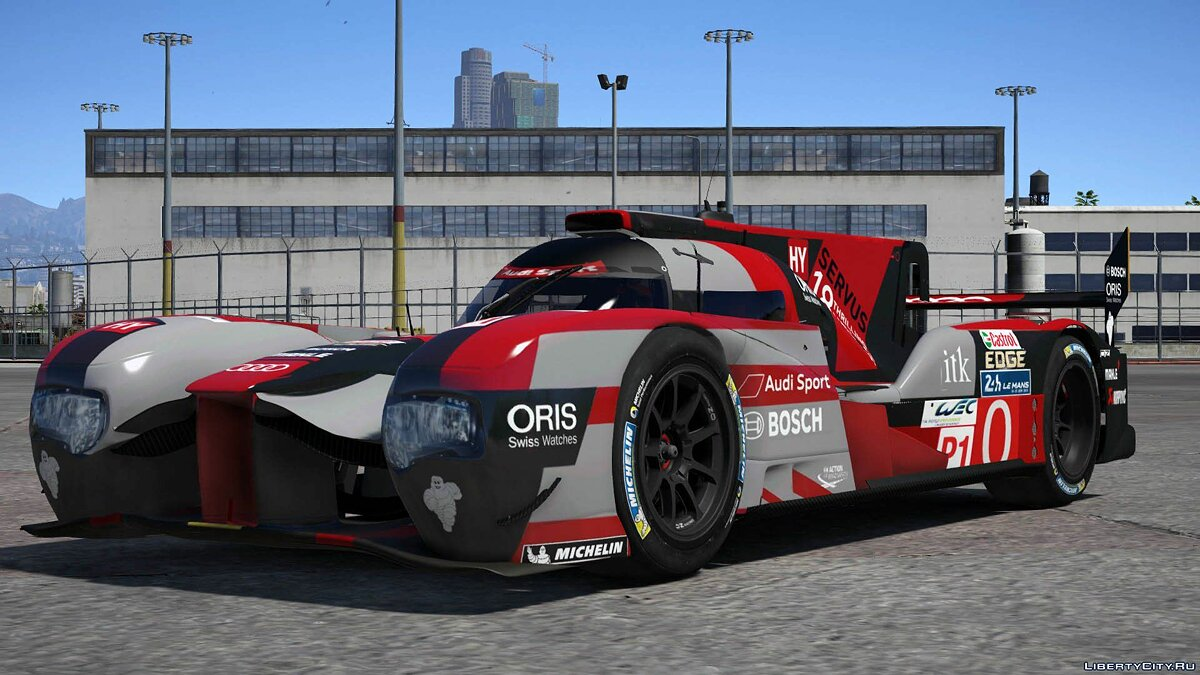 2016 Audi R18 HY n°0 [Add-On / Replace] 1.0 для GTA 5