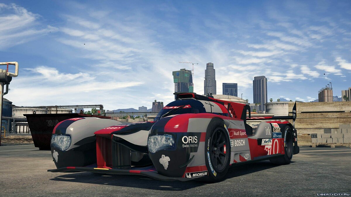 2016 Audi R18 HY n°0 [Add-On / Replace] 1.0 для GTA 5 - скриншот #2