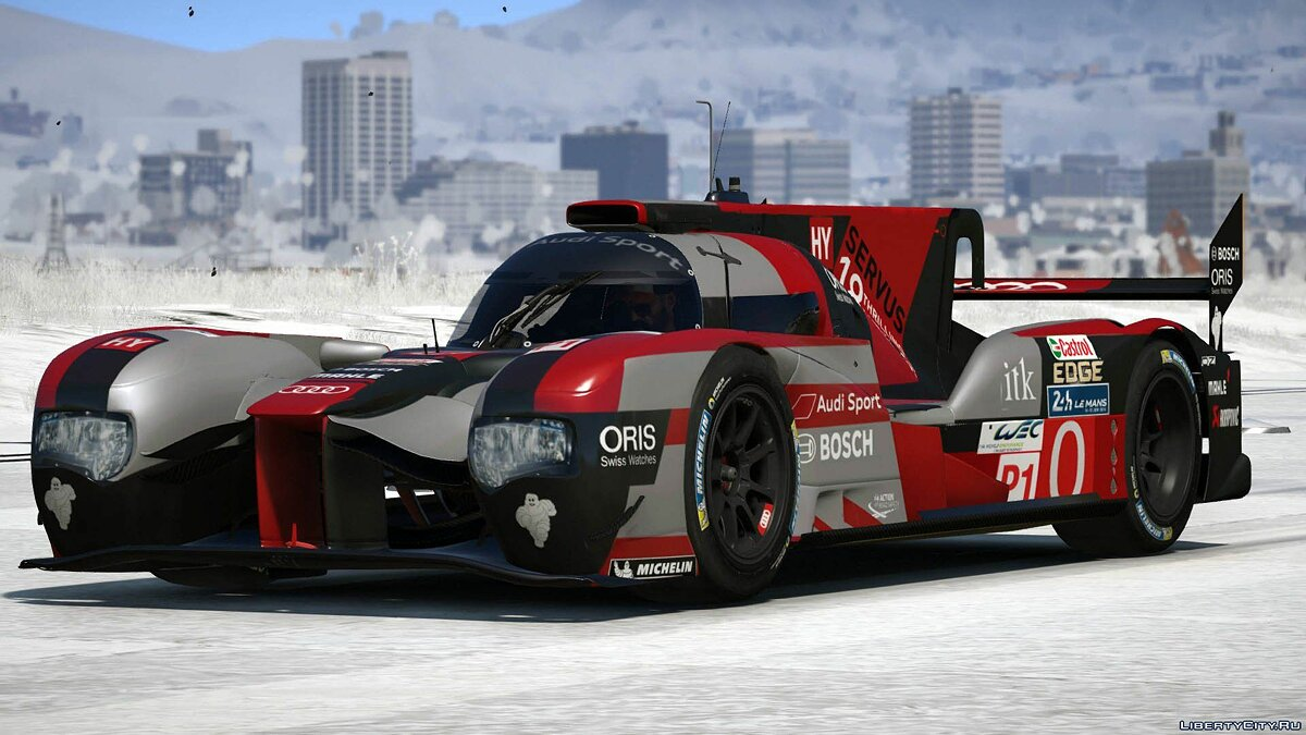 2016 Audi R18 HY n°0 [Add-On / Replace] 1.0 для GTA 5 - скриншот #3