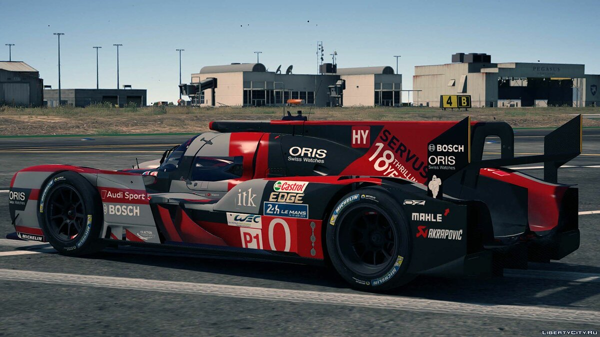 2016 Audi R18 HY n°0 [Add-On / Replace] 1.0 для GTA 5 - скриншот #4