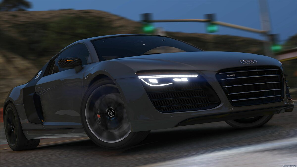 2013 Audi R8 5.2 FSI Quattro Plus [Add-On / Replace] 1.3 для GTA 5