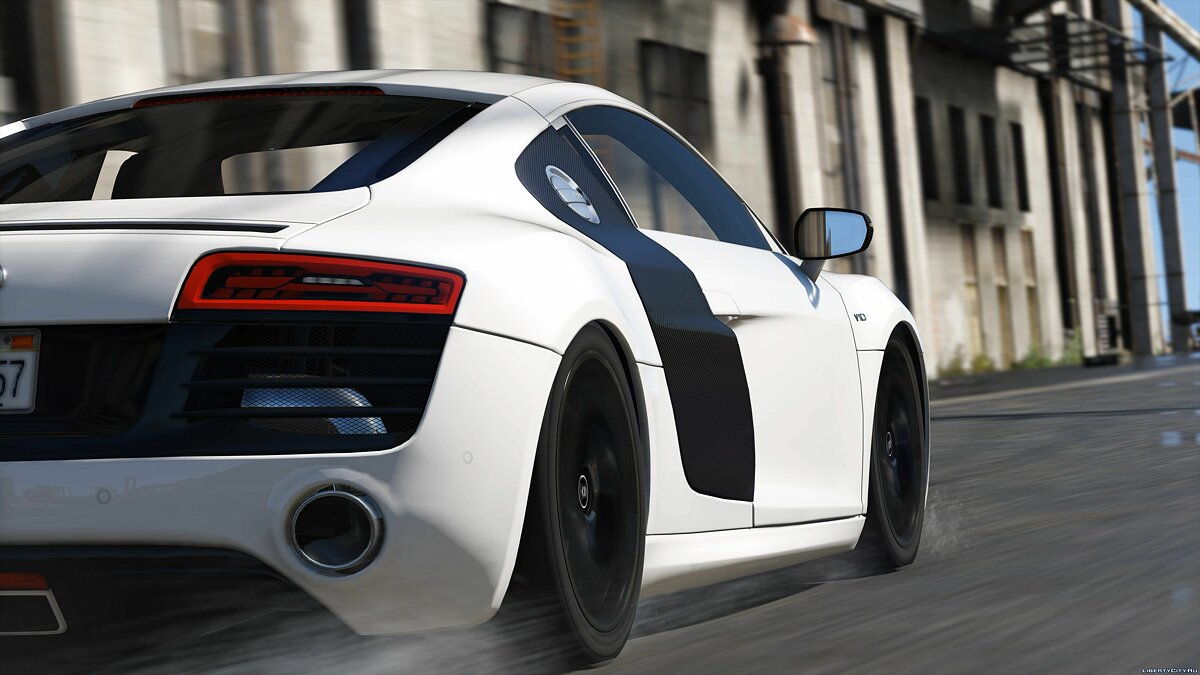 2013 Audi R8 5.2 FSI Quattro Plus [Add-On / Replace] 1.3 для GTA 5 - скриншот #4