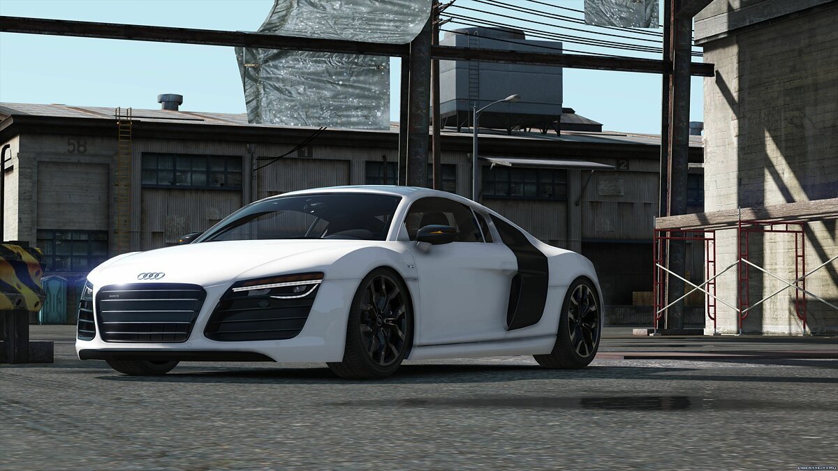2013 Audi R8 5.2 FSI Quattro Plus [Add-On / Replace] 1.3 для GTA 5 - скриншот #5