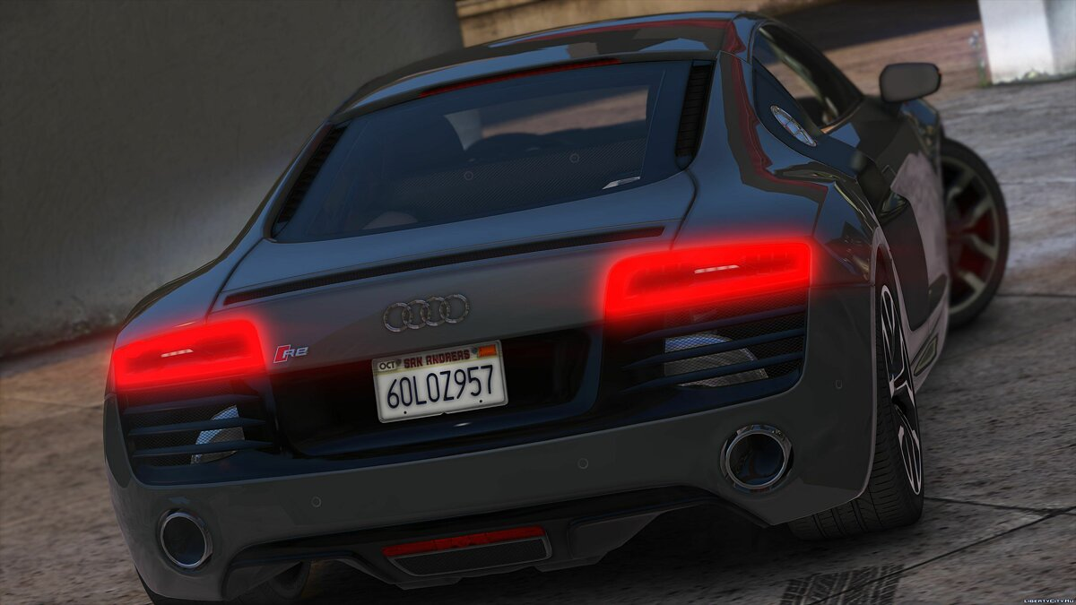 2013 Audi R8 5.2 FSI Quattro Plus [Add-On / Replace] 1.3 для GTA 5 - скриншот #6