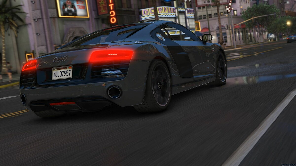 2013 Audi R8 5.2 FSI Quattro Plus [Add-On / Replace] 1.3 для GTA 5 - скриншот #7