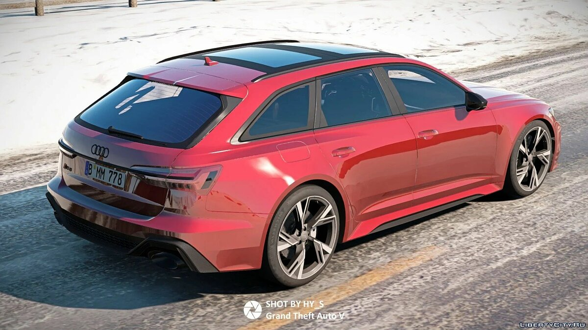 Машина Audi Audi RS6 (C8) [Add-On] 0.1 для GTA 5