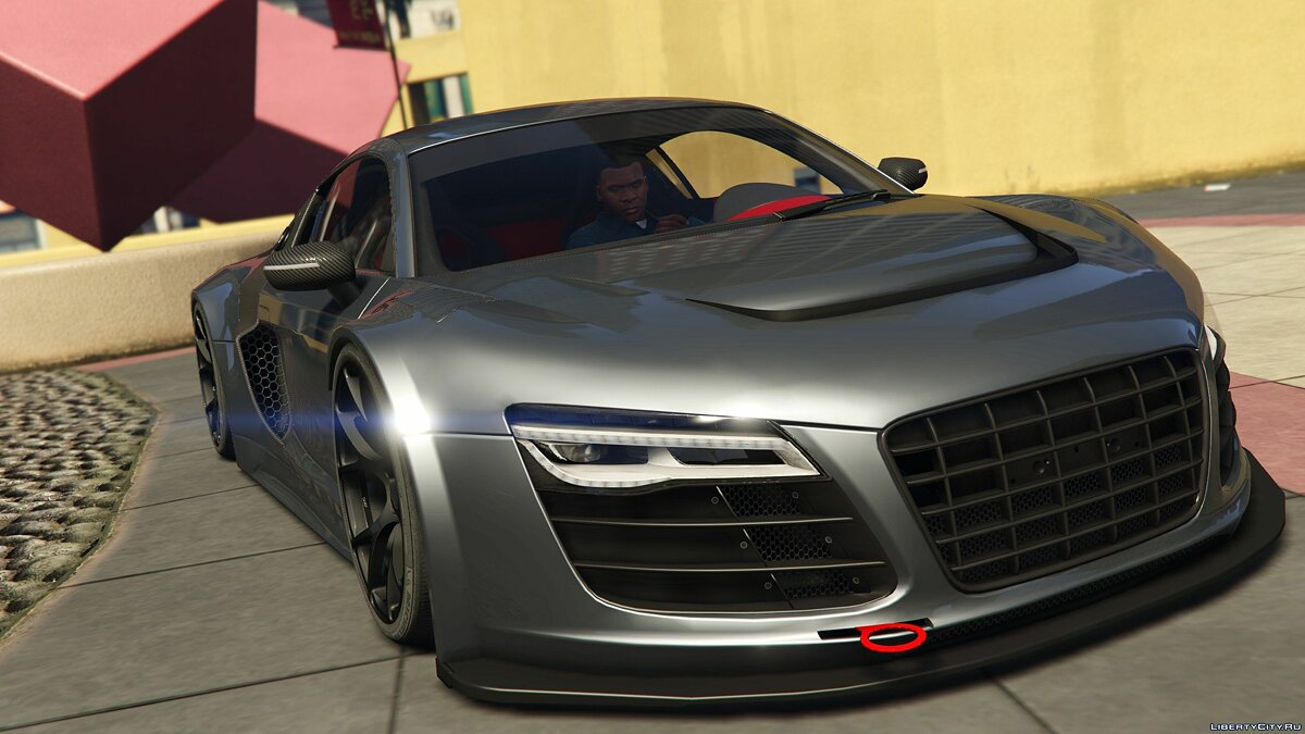 Audi R8 LMS Street Custom [Add-On] 1.2 для GTA 5 - скриншот #2