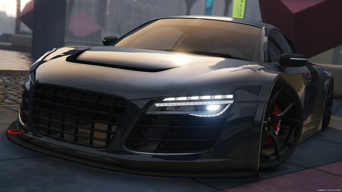 Audi R8 LMS Street Custom [Add-On] 1.2 для GTA 5 - скриншот #5