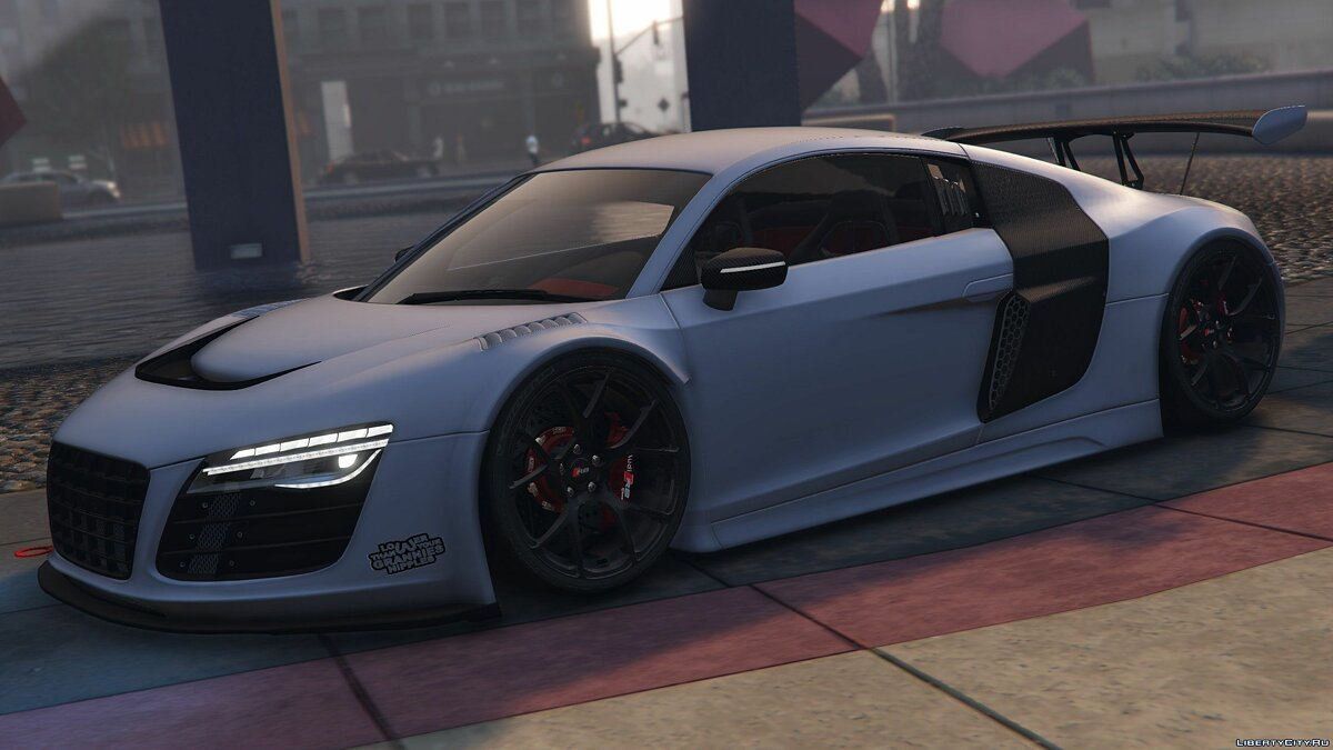 Audi R8 LMS Street Custom [Add-On] 1.2 для GTA 5 - скриншот #4