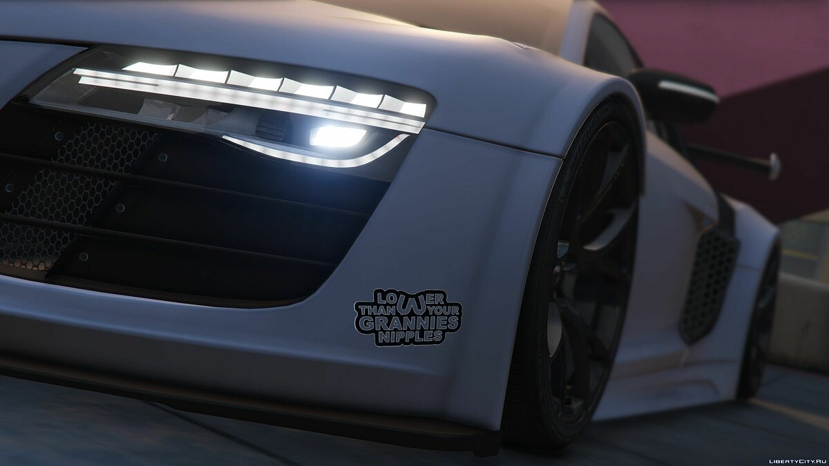 Audi R8 LMS Street Custom [Add-On] 1.2 для GTA 5 - скриншот #6