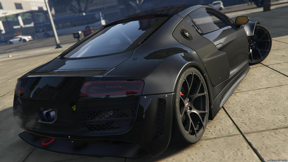 Audi R8 LMS Street Custom [Add-On] 1.2 для GTA 5 - скриншот #8