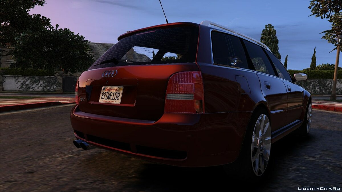 ��ашина Audi Audi RS4 2001 [Add-On / Replace] 1.2 для GTA 5