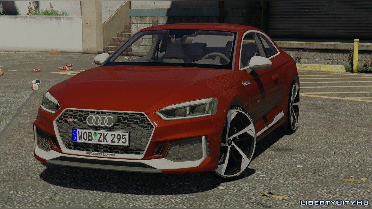 Машина Audi 2018 Audi RS5 Coupe 1.0 для GTA 5