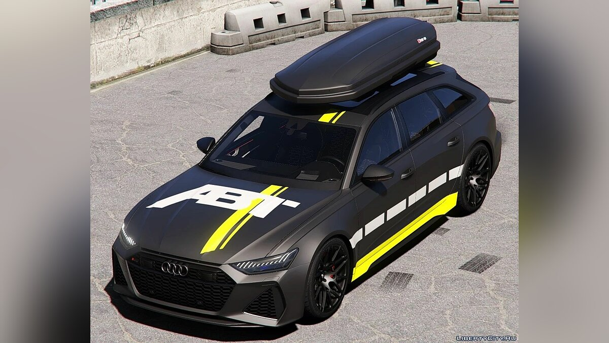 Машина Audi 2020 Audi RS6 Avant [ Add-On | Extras ] 1.0 для GTA 5