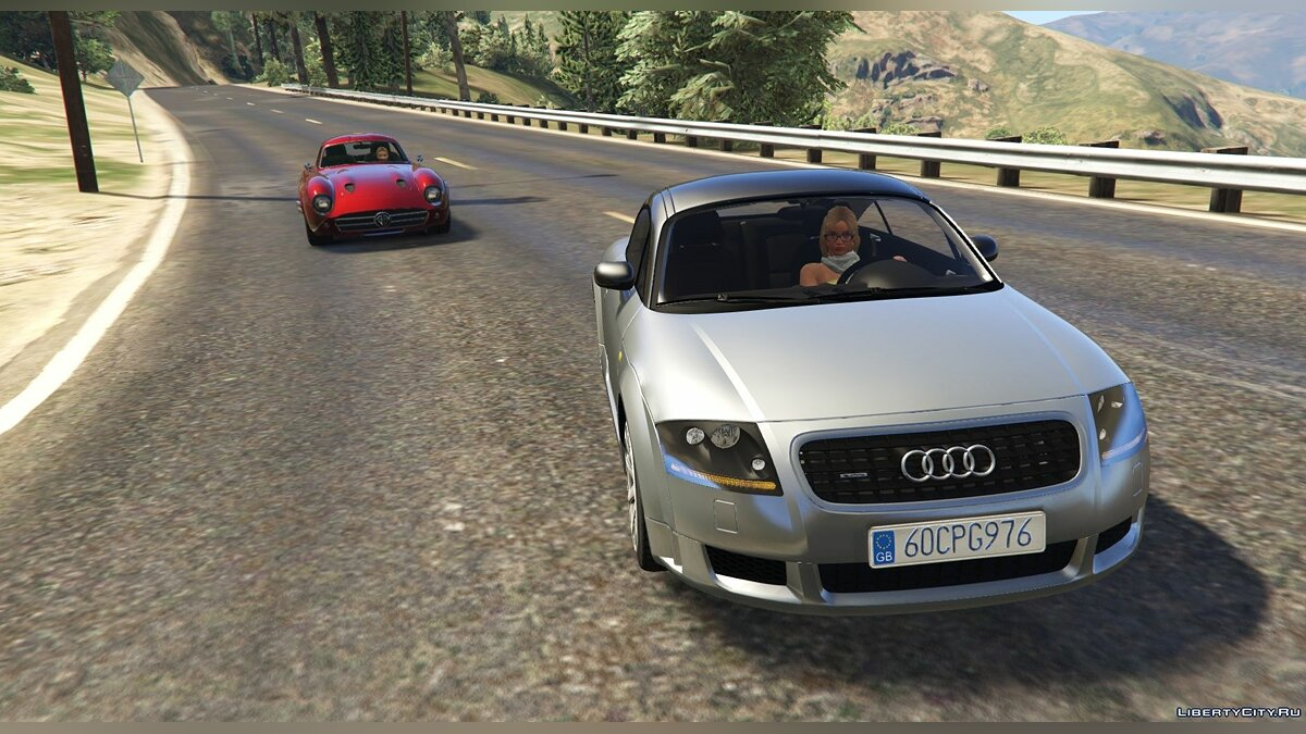 Машина Audi Audi TT Mk1 [Add-On / Replace] 1.0 для GTA 5