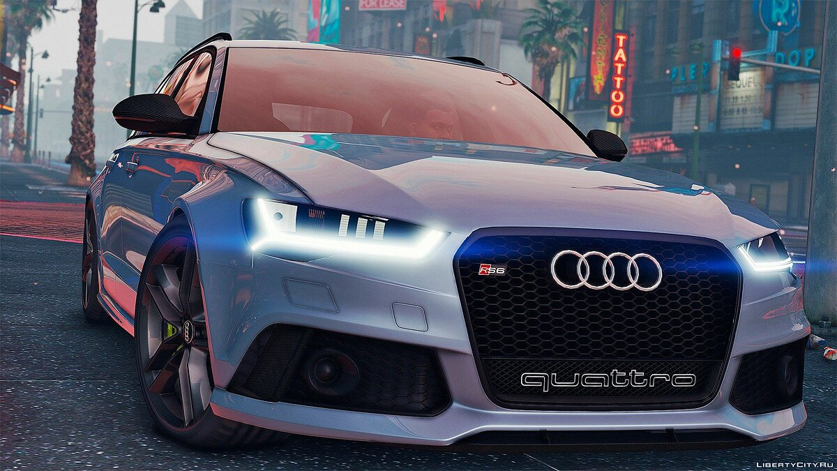 2015 Audi RS6 C7 Avant [Add-On | Tuning | HQ] 1.3 для GTA 5