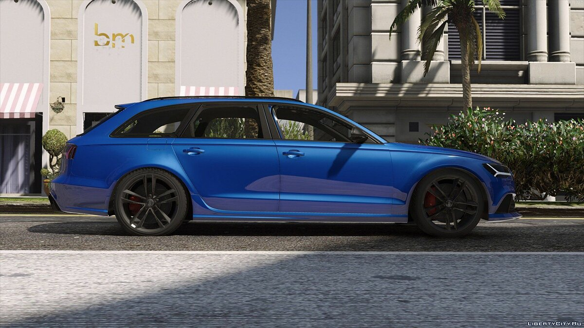 2015 Audi RS6 C7 Avant [Add-On | Tuning | HQ] 1.3 для GTA 5 - скриншот #5