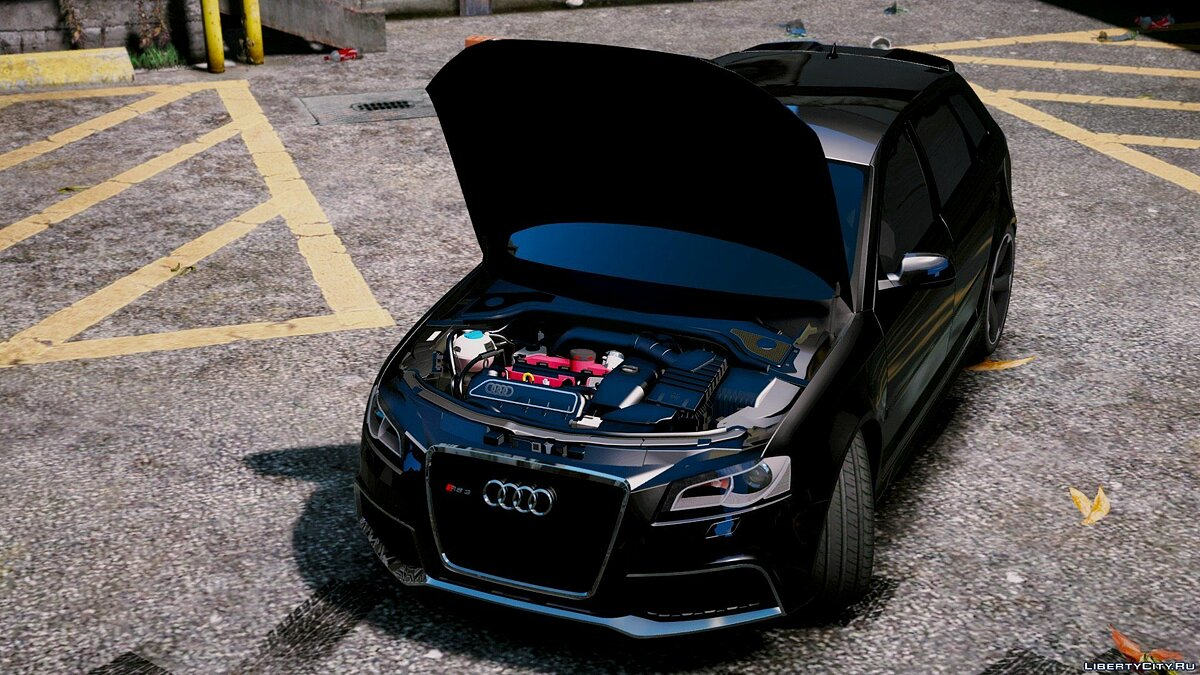 2011 Audi RS3 [Add-On / Replace | Tuning] 0.5 для GTA 5 - скриншот #4