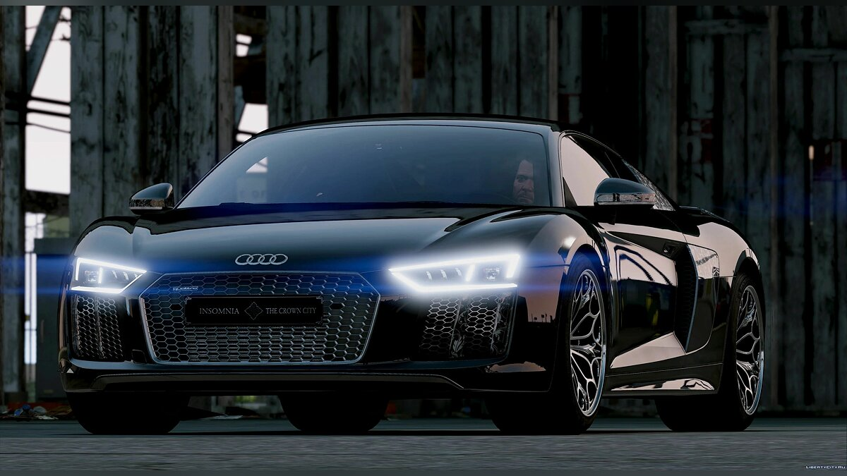Машина Audi Audi R8 Star Of Lucis 2016 [Add-On] 1.0 для GTA 5