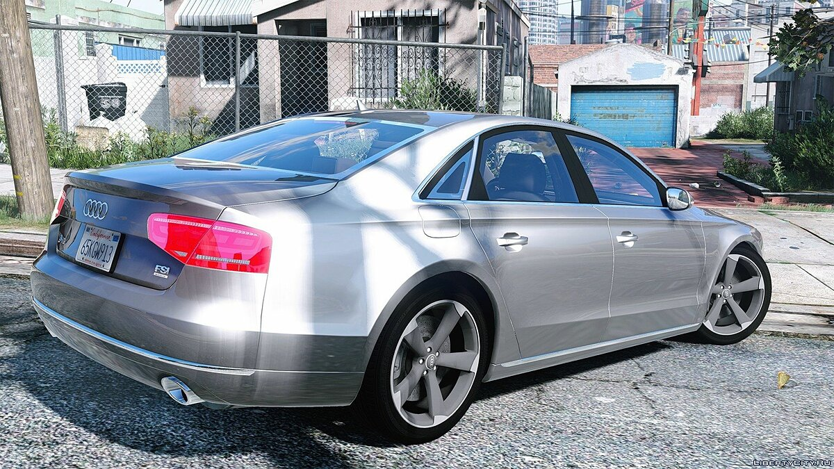 2010 Audi A8 FSI [Add-On / Replace] 3.0 для GTA 5 - скриншот #2