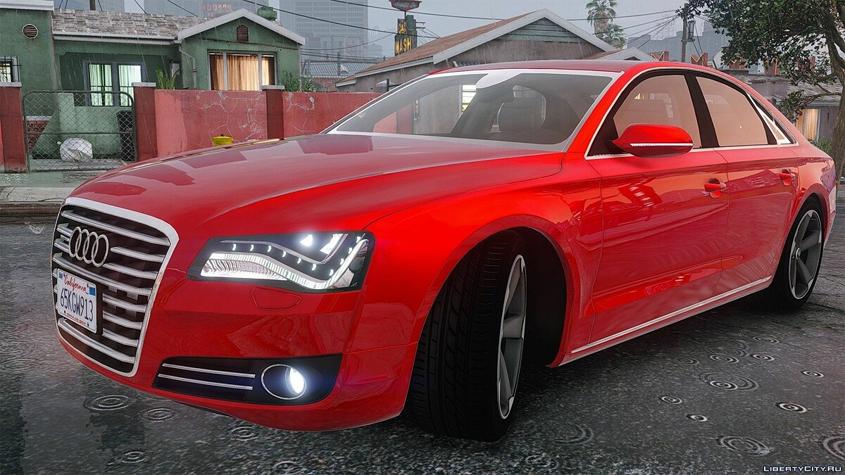 2010 Audi A8 FSI [Add-On / Replace] 3.0 для GTA 5 - скриншот #6