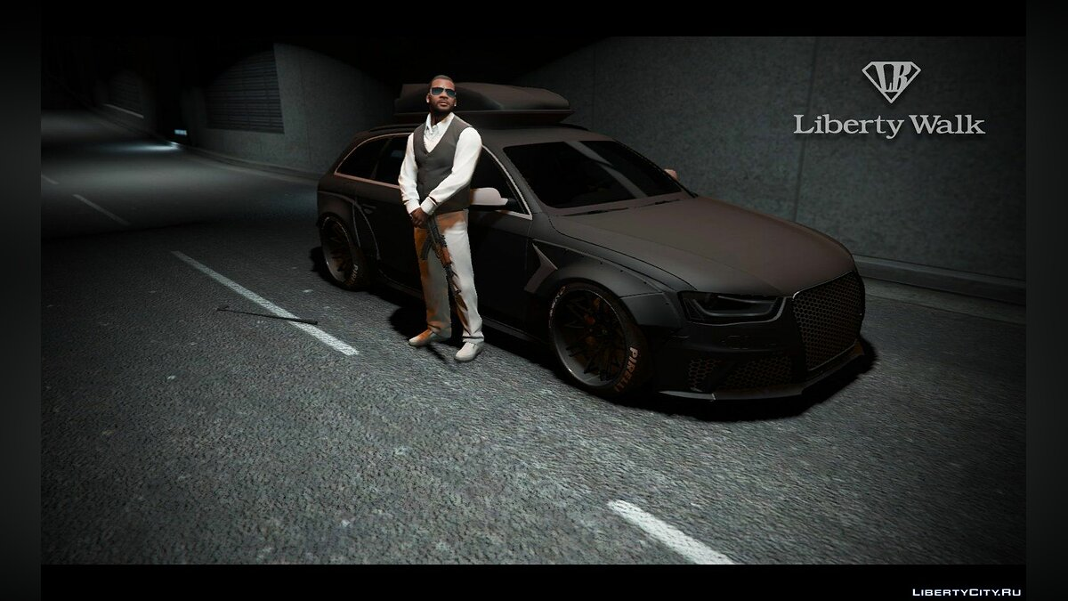 Audi RS4 Avant [LibertyWalk] для GTA 5