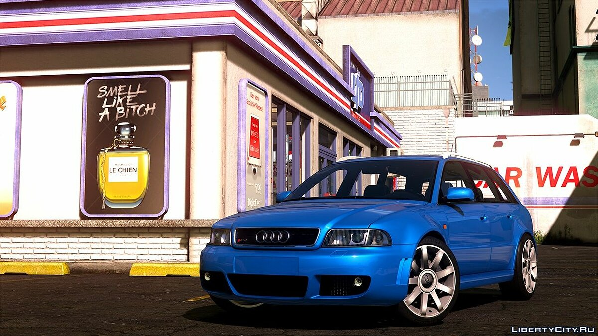 ��ашина Audi Audi RS4 2001 [Add-On / Replace / Livery] 1.3 для GTA 5