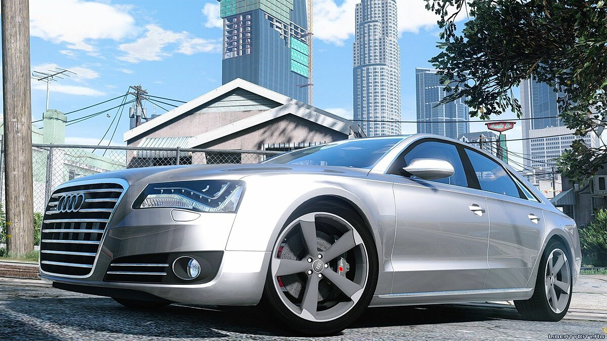 2010 Audi A8 FSI [Add-On / Replace] 2.2 для GTA 5