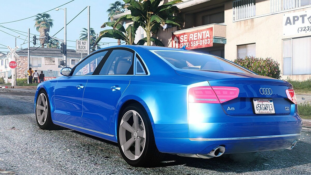 2010 Audi A8 FSI [Add-On / Replace] 2.2 для GTA 5 - скриншот #6