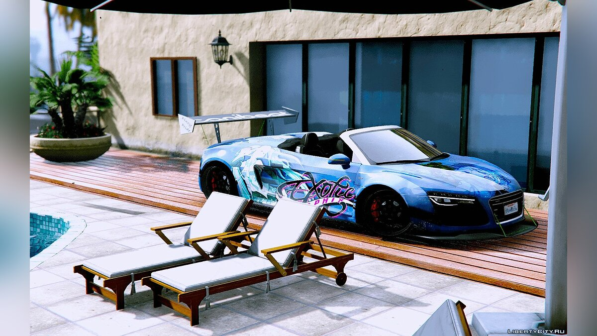 Audi Spyder V10 [Add-On / Replace] 1.0 для GTA 5