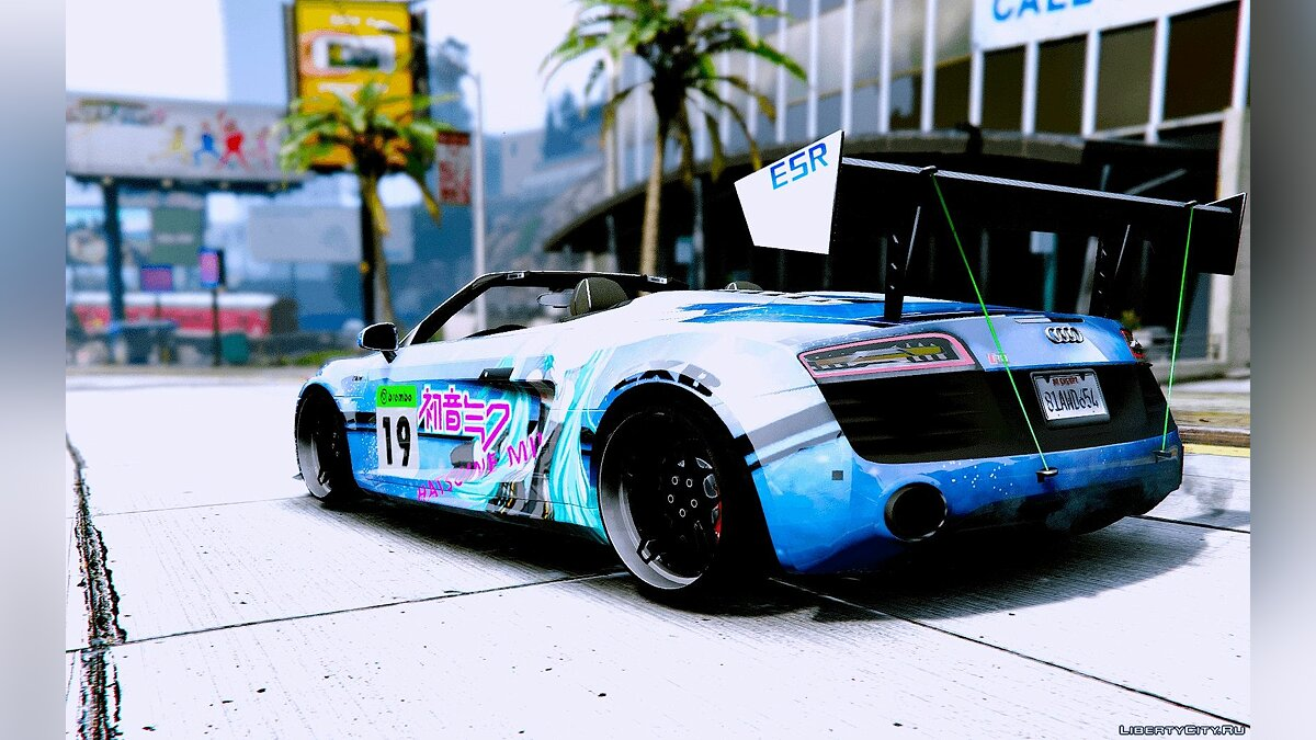 Audi Spyder V10 [Add-On / Replace] 1.0 для GTA 5 - скриншот #2
