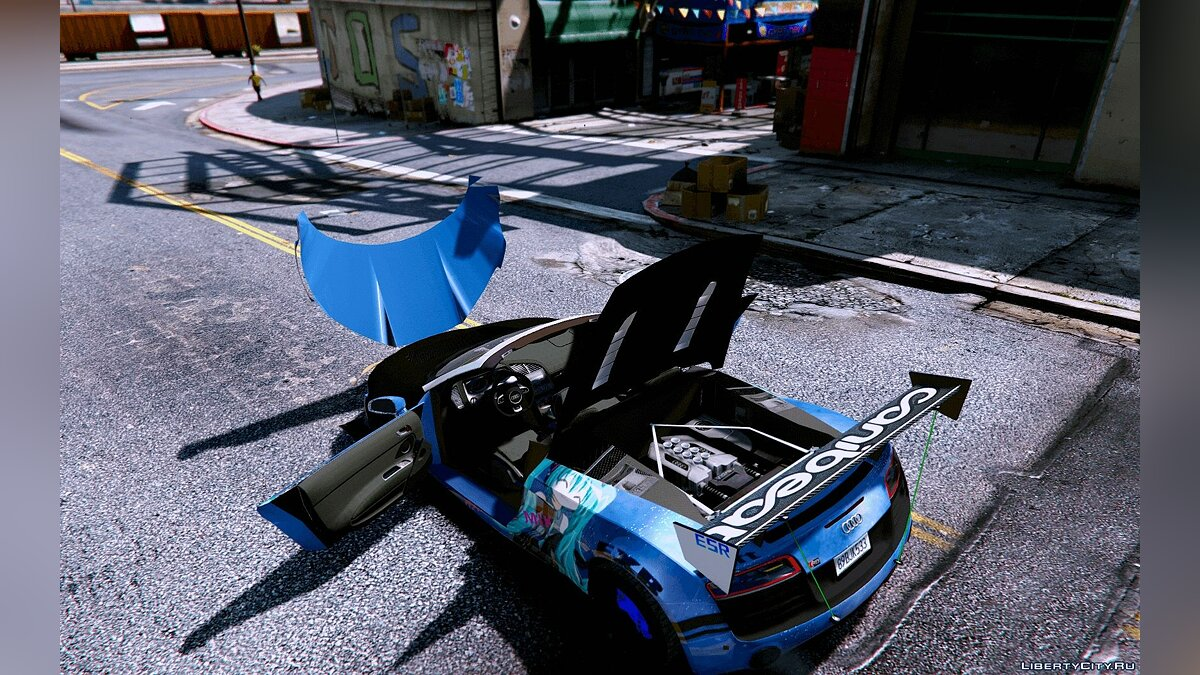 Audi Spyder V10 [Add-On / Replace] 1.0 для GTA 5 - скриншот #3