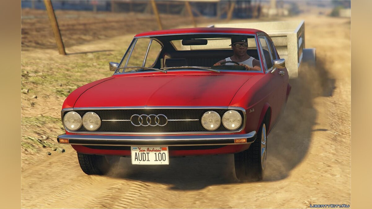 Audi 100 Coupe S [Add-On | Replace | Tuning] 1.0 для GTA 5 - скриншот #5