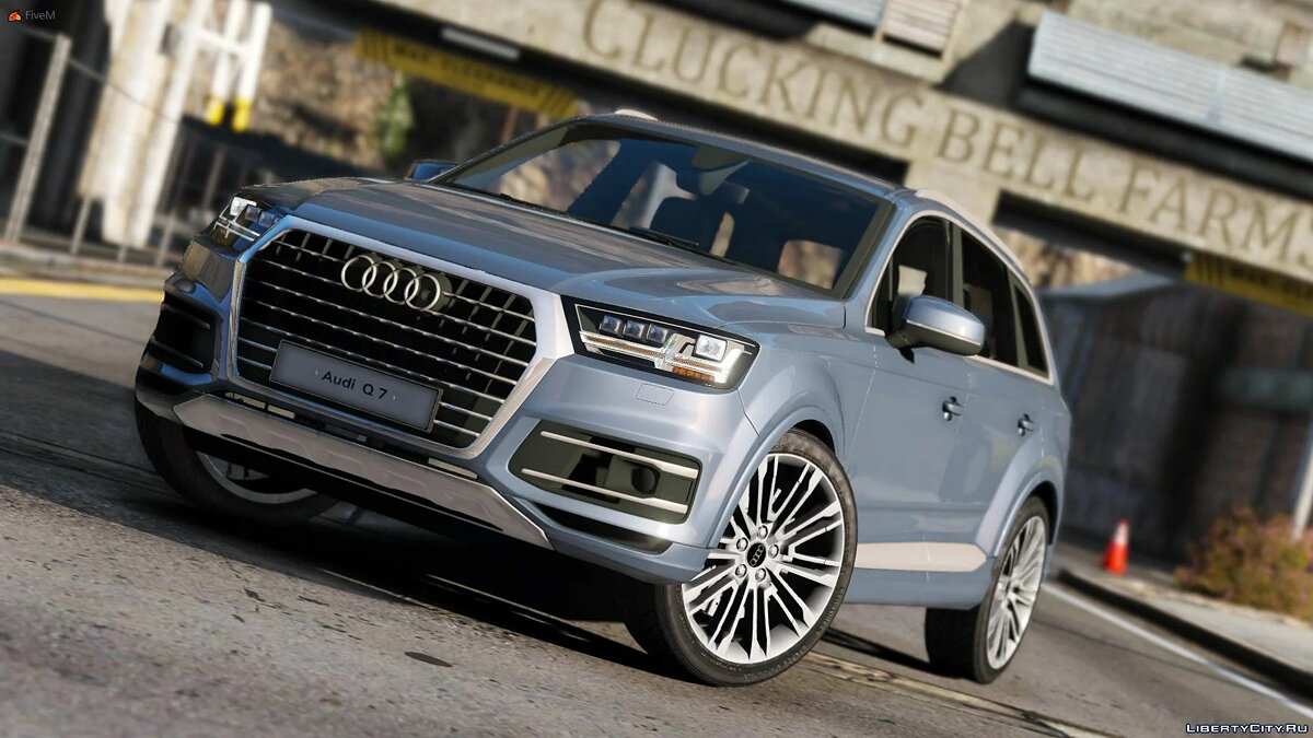 Машина Audi Audi Q7 Comfort Line [Add-On / Replace] 1.1 для GTA 5