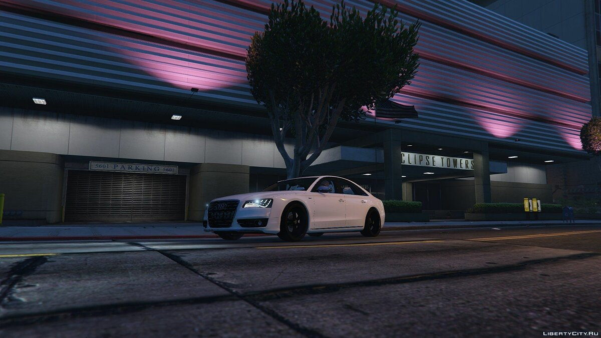 2013 Audi S8 4.0TFSI Quattro [Add-On / Replace] v1.7 для GTA 5 - скриншот #2