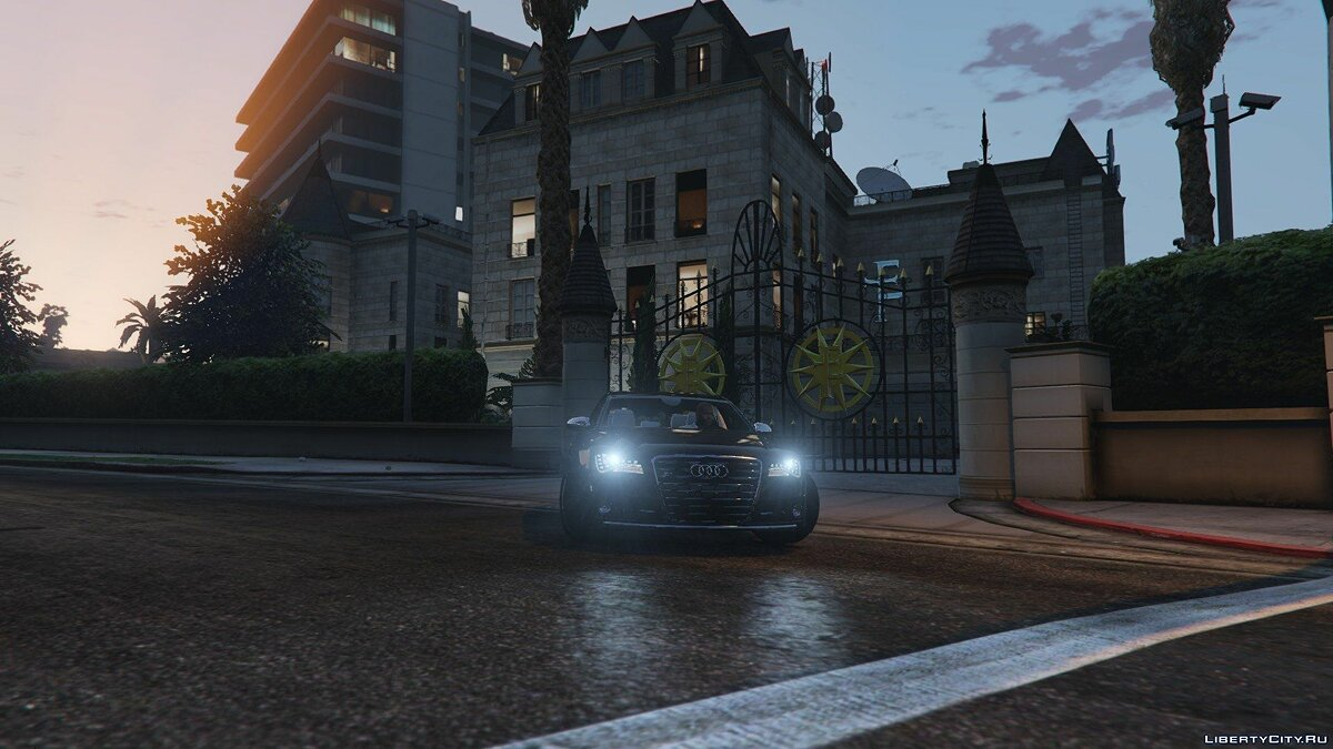 2013 Audi S8 4.0TFSI Quattro [Add-On / Replace] v1.7 для GTA 5 - скриншот #4